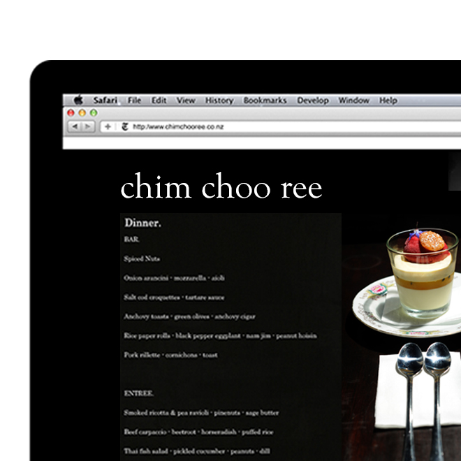 chim choo ree web design and build