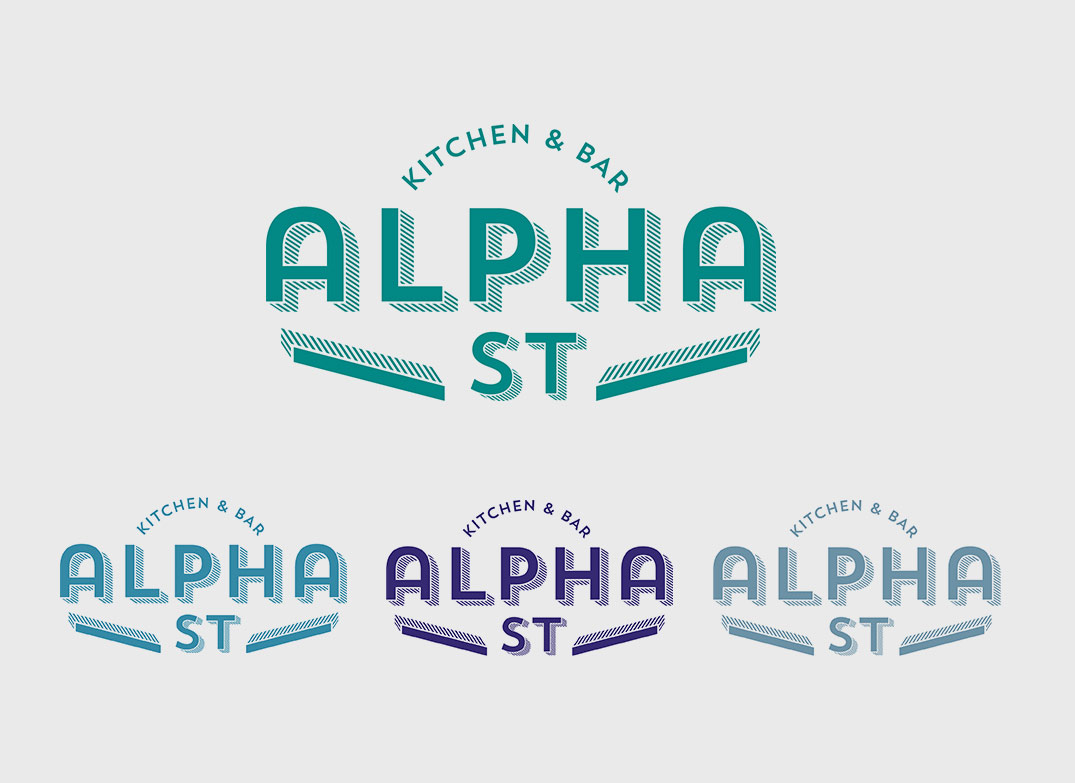 Alpha St Kitchen & Bar Logo