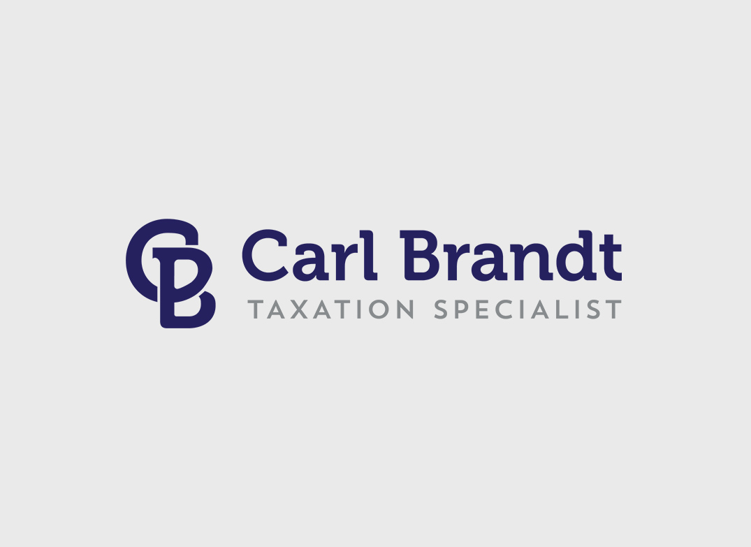 Carl Brandt Taxation Logo Design