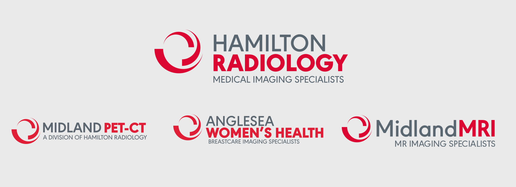 Hamilton Radiology Group Logos