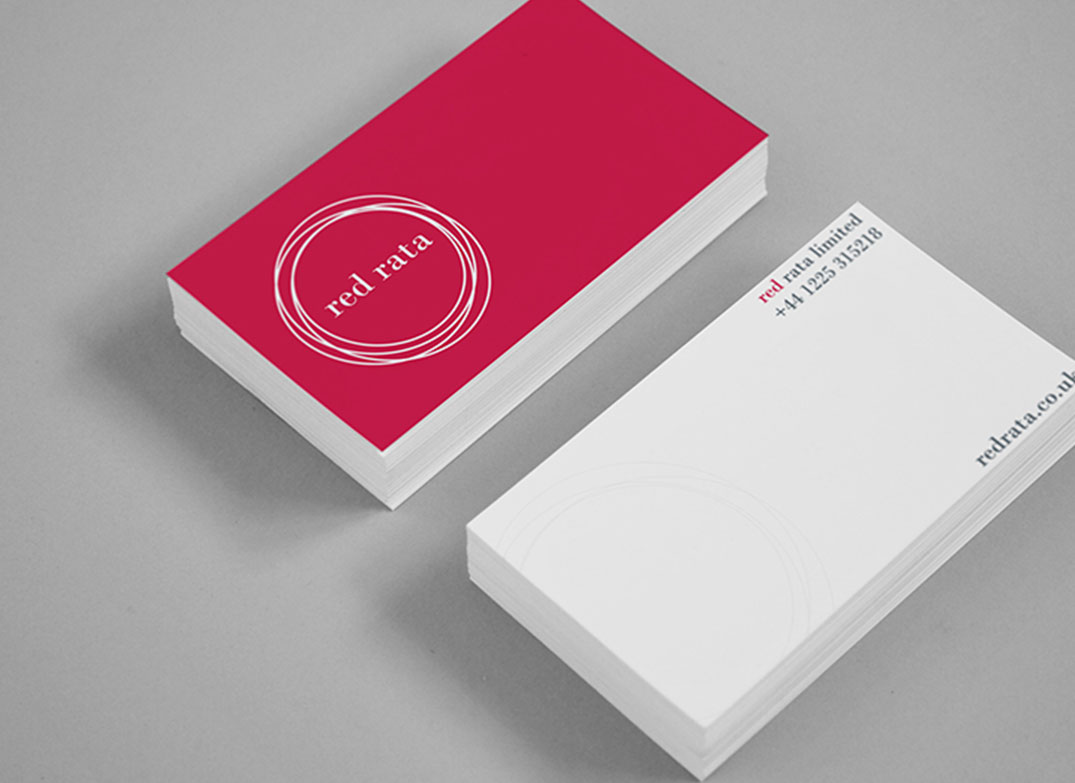 Red Rata Business Cards Design